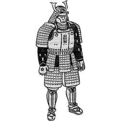 Аой-мацури — праздник, картинка чёрно-белая
