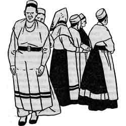 День Ивана Купалы — праздник, картинка чёрно-белая