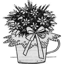 Казюкас — праздник, картинка чёрно-белая