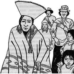 Койлорритхи — праздник, картинка чёрно-белая