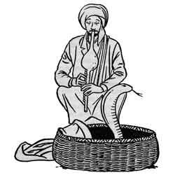 Нагапанчами — праздник, картинка чёрно-белая