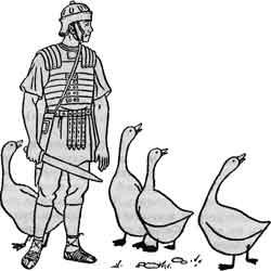 Праздник гусиного пера — праздник, картинка чёрно-белая