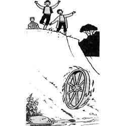 Праздник Яниса — праздник, картинка чёрно-белая