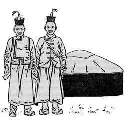 Праздник первого кумыса — праздник, картинка чёрно-белая