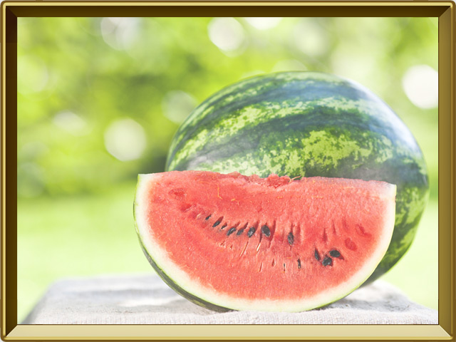 Арбуз — растение, фото в рамке №3