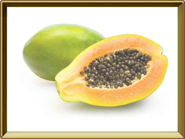 Папайя — растение, фото в рамке №1