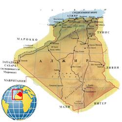 Алжир — страна, картинка цветная