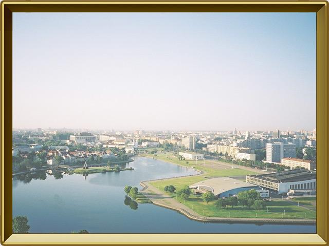 Белоруссия — страна, фото в рамке №3