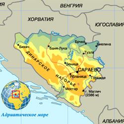 Босния (Босния и Герцеговина) — страна, картинка цветная