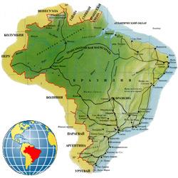 Бразилия — страна, картинка цветная