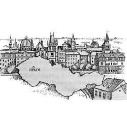 Чехия — страна, картинка чёрно-белая