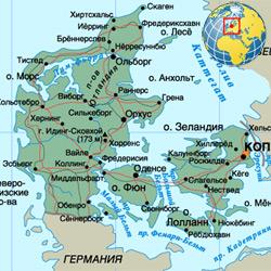 Дания — страна, картинка цветная
