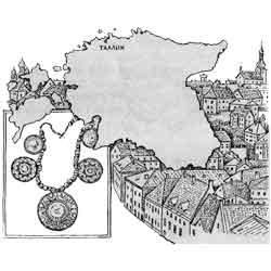 Эстония — страна, картинка чёрно-белая