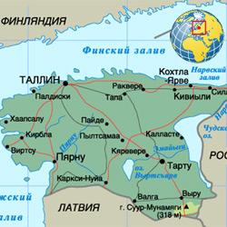 Эстония — страна, картинка цветная