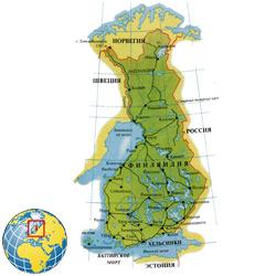 Финляндия — страна, картинка цветная