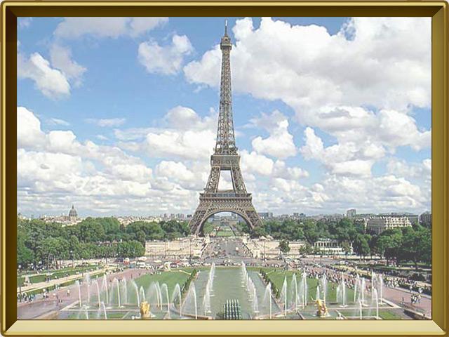 Франция — страна, фото в рамке №3