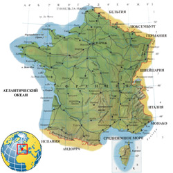 Франция — страна, картинка цветная