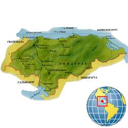 Гондурас — страна, картинка цветная