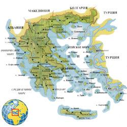 Греция — страна, картинка цветная