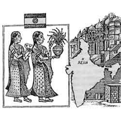 Индия — страна, картинка чёрно-белая