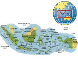 Индонезия — страна, картинка цветная