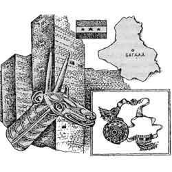 Ирак — страна, картинка чёрно-белая