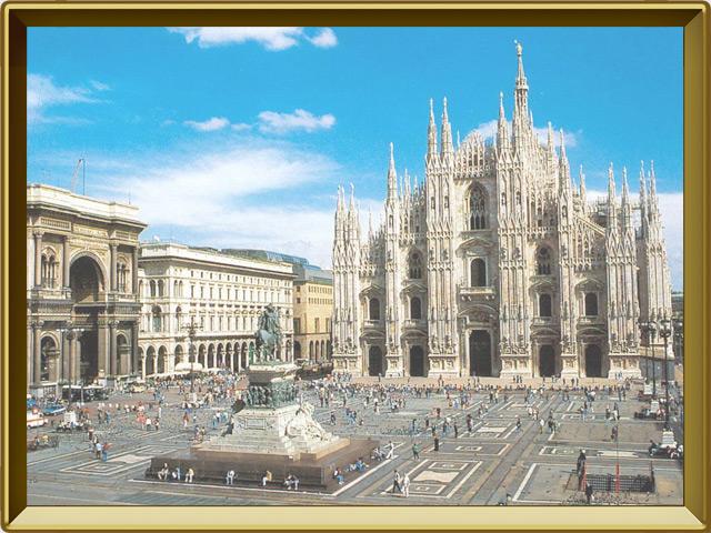 Италия — страна, фото в рамке №3
