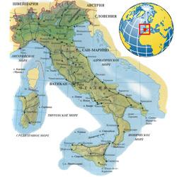 Италия — страна, картинка цветная