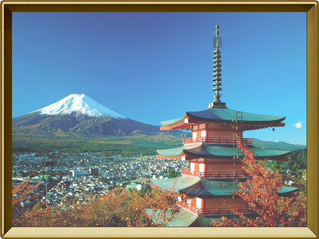 Япония — страна, фото в рамке №3
