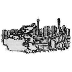 Канада — страна картинка чёрно белая