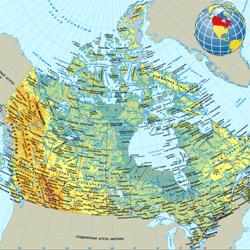 Канада — страна, картинка цветная