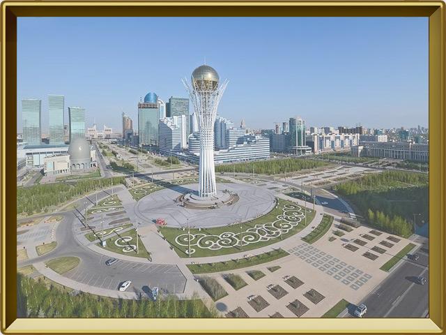 Казахстан — страна, фото в рамке №3