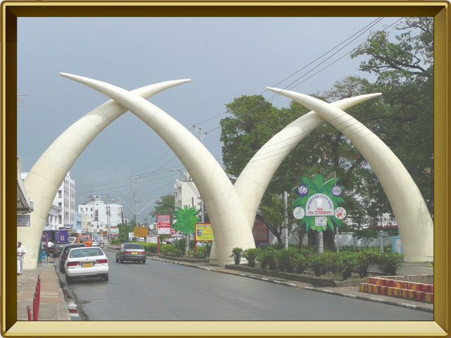 Кения — страна, фото в рамке №2