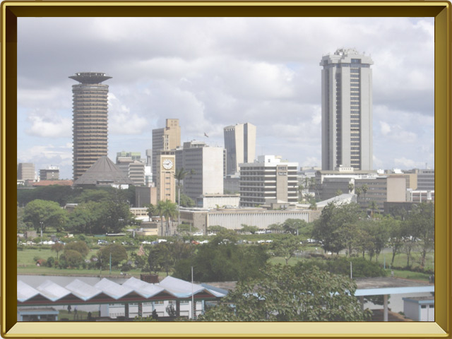 Кения — страна, фото в рамке №3