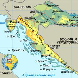 Хорватия — страна, картинка цветная
