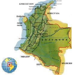Колумбия — страна, картинка цветная