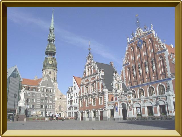 Латвия — страна, фото в рамке №3