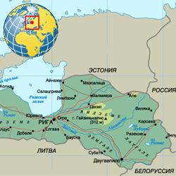 Латвия — страна, картинка цветная