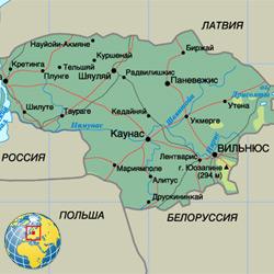 Литва — страна, картинка цветная