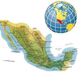Мексика — страна, картинка цветная