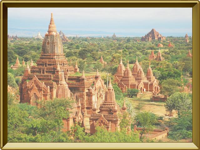 Мьянма — страна, фото в рамке №2