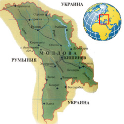 Молдавия (Молдова) — страна, картинка цветная