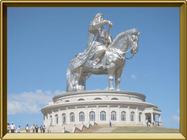 Монголия — страна, фото в рамке №3