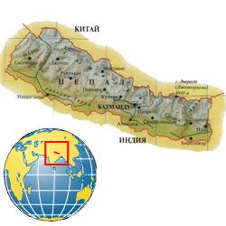 Непал — страна, картинка цветная