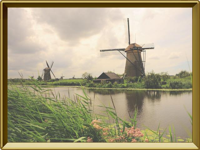 Нидерланды — страна, фото в рамке №2