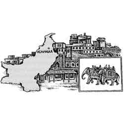 Пакистан — страна, картинка чёрно-белая