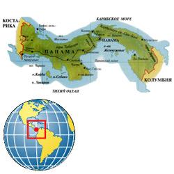 Панама — страна, картинка цветная