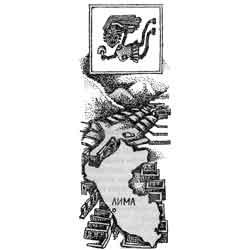 Перу — страна, картинка чёрно-белая
