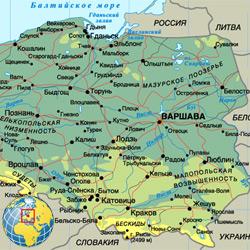 Польша — страна, картинка цветная