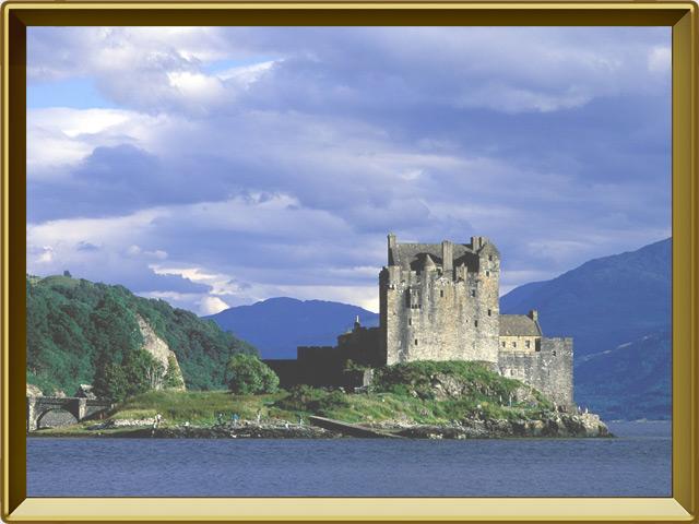 Шотландия — страна, фото в рамке №2